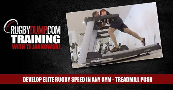 Develop Elite Speed In Any Gym - Treadmill Push