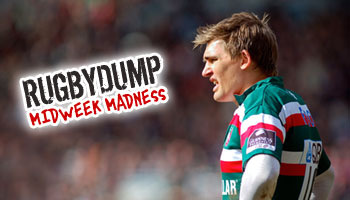 Midweek Madness - Toby Flood charges straight into the post