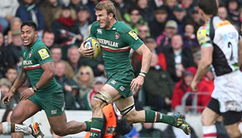 Tom Croft's brilliant try and try-saving tackle against Harlequins