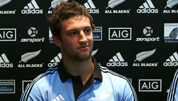 Tom Taylor on The Crowd Goes Wild ahead of All Blacks debut