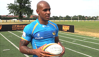 London Wasps players given sprinting masterclass by track stars