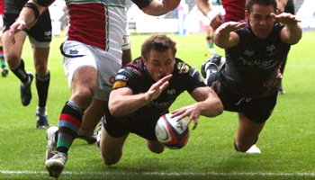 Ospreys snatch victory from Harlequins at the death