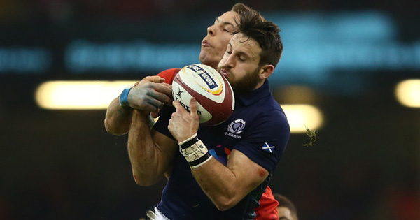 Tommy Seymour's aerial brilliance against Wales in Cardiff