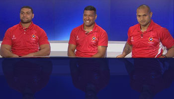 AUDIO: Tongan players ready to spring an upset at the Rugby World Cup