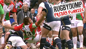 Friday Funnies - The Tony Buckley player toss