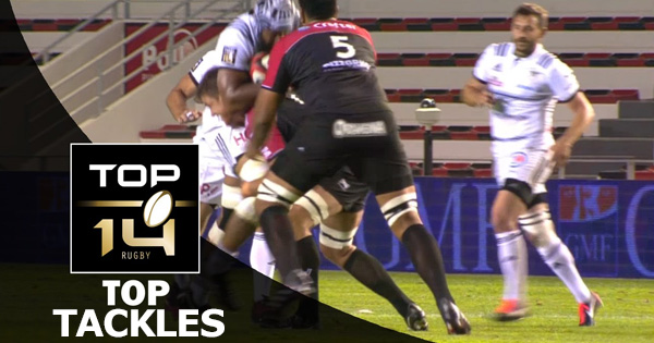 Top 5 Tackles from the Top 14 - Round 3