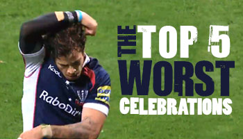 The Top 5 Worst Celebrations in Rugby history