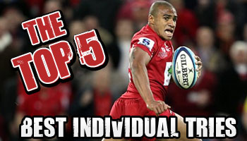 The Top 5 Individual Tries of all time - Rugby HQ