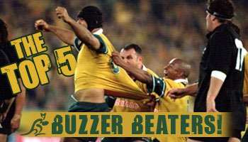 The Top Five (Aussie) Buzzer Beaters of All Time