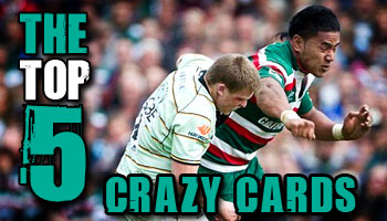 The Top 5 Crazy Cards of All Time - Rugby HQ
