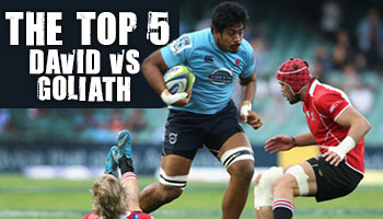 The Top 5 David vs Goliath (big man vs little man) battles