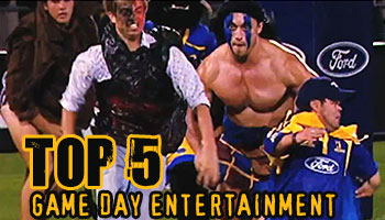 Midweek Madness - The Top Five Best Game-Day Entertainment Showings Ever