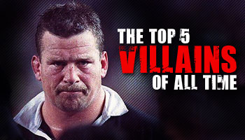 The Top 5 Rugby Villains of All Time - Rugby HQ