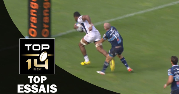 The Best Tries from the opening rounds of Top 14 and PRO D2