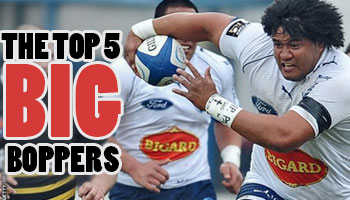 The Top 5 'Big Boppers' (130kg +) in World Rugby