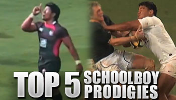 The Top 5 Schoolboy Prodigies, then and now