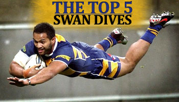 The Top 5 Swan Dives of all time