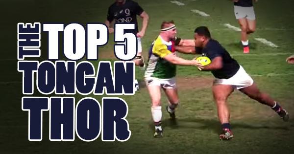 Powerful Top 5 'Tongan Thor' moments