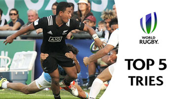 Top 5 Tries from U20 World Championship PLUS Highlights from Day Two