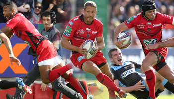 Wilkinson, Giteau and Armitage combine for classic Toulon try vs Glasgow