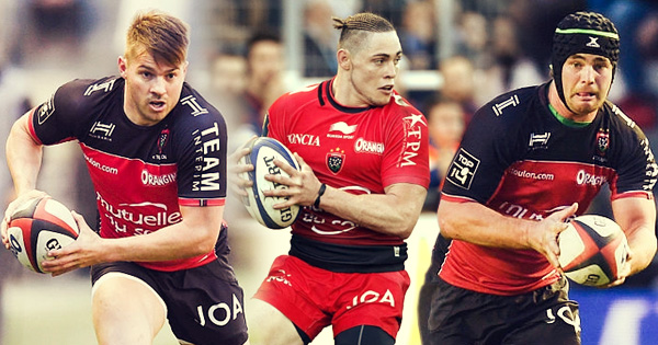 Drew Mitchell, James O'Connor and Liam Gill give insight into life with Toulon