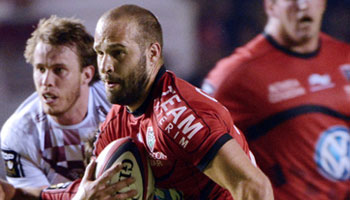 Toulon go one point clear at the top of the table with thumping of Bordeaux