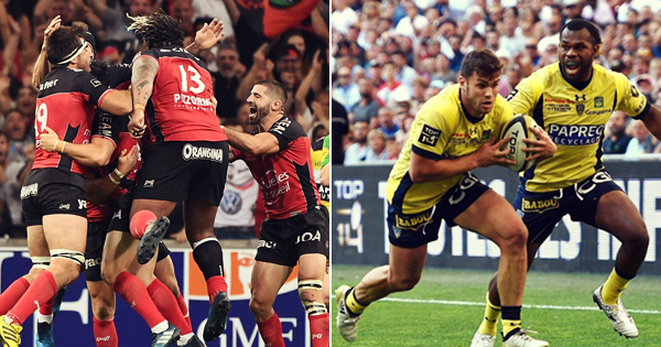 Toulon and Clermont set to meet in Top 14 final after tense semis