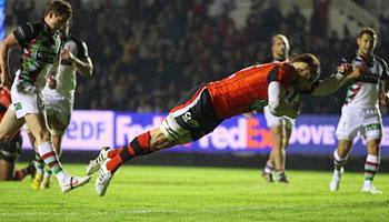Toulon vs Harlequins highlights - Amlin Challenge Cup quarter final