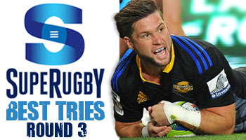 The Best Tries scored in Round 3 of Super Rugby 2014