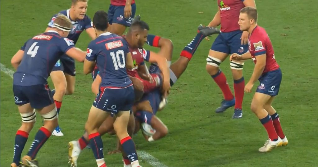 Reds lock Lukhan Tui gets banned for manhandling Will Genia