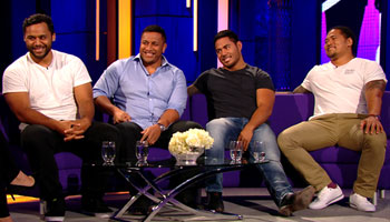 The Tuilagi and Vunipola brothers talk mums, crossdressers and big hits