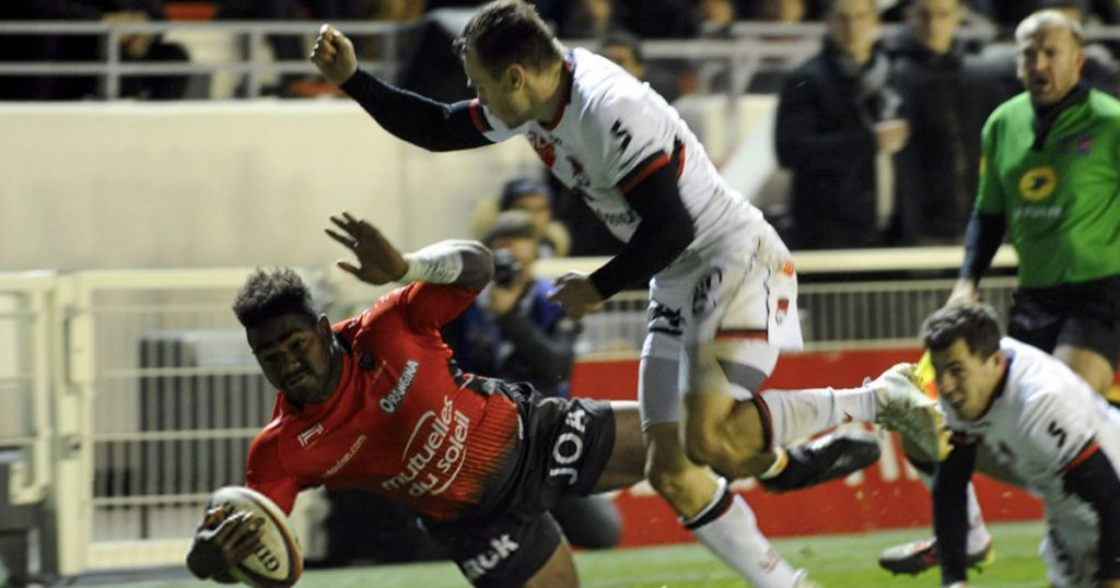 Toby Arnold absolutely floors Josua Tuisova as Toulon power to victory