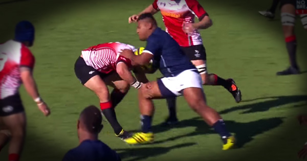 Tongan Thor charge ignites match with HUGE bump in opening minute