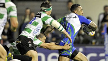 Fetu'u Vainikolo try from no look pass against Treviso