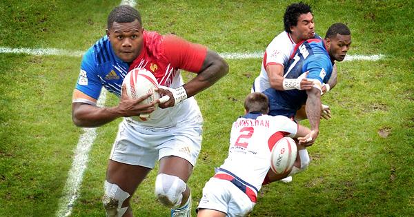 France's Fijian sensation Virimi Vakatawa rips up the Paris Sevens