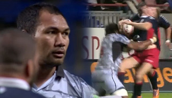 Josh Valentine knocked out by brutal upright tackle from Taiasina Tuifua