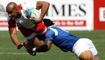 England and Samoa's great Sevens quarter final