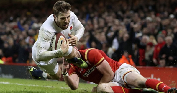 Elliot Daly late try secures England win after titanic battle with Wales
