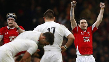 Wales overcome the threat of the English in Cardiff
