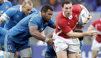 Wales win in Rome with comfortable victory over Italy