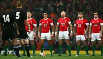 The Welsh response to the All Blacks Haka