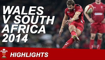 Wales vs South Africa official Highlights recap