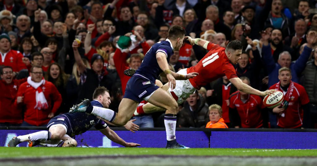 Wales demolish Scotland but coach Gatland stays grounded