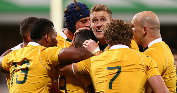 Wallabies get off to flying start to claim convincing win over Argentina