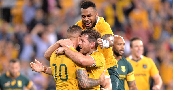 Wallabies get elusive win with great comeback victory over the Springboks