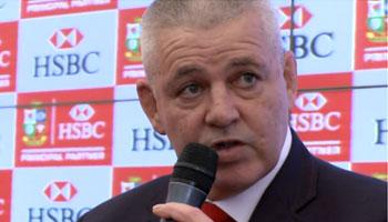 Warren Gatland discusses British & Irish Lions 2013 selection process