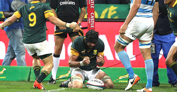 South Africa come back late to defeat Argentina in tournament opener