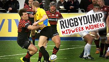Midweek Madness - Schalk Brits runs into brick wall Wayne Barnes