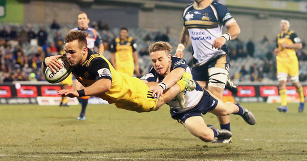 Hurricanes through to semi finals after clash with Brumbies in Canberra