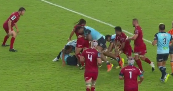 Will Skelton issued official warning for doing this to Saia Fainga'a